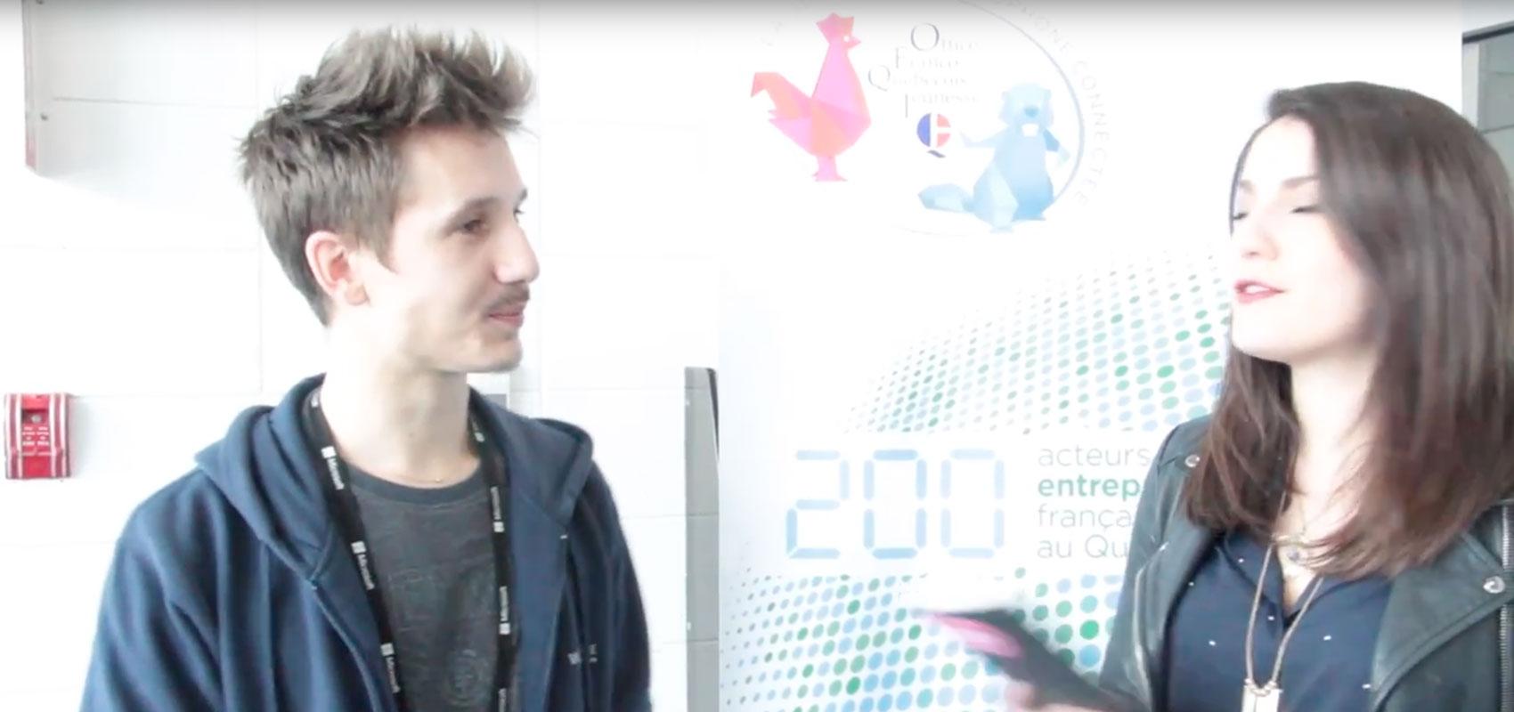 Clément - étudiant à la web@cademie