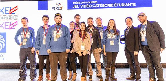 Deux prix pour les participants français au Pixel Challenge 2018