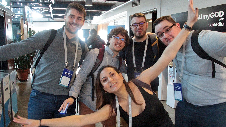 La délégation 2018 en images : le Web à Québec