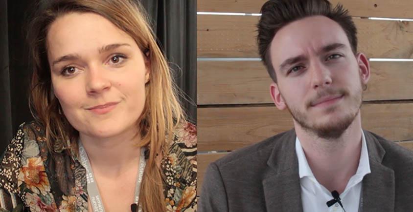 Interview d'Emmanuelle Gras, fondatrice de Dipongo et Jeddi Mees, fondateur d'InstaGrowth Ninja, participants de la Semaine Numérique 2018 à Québec