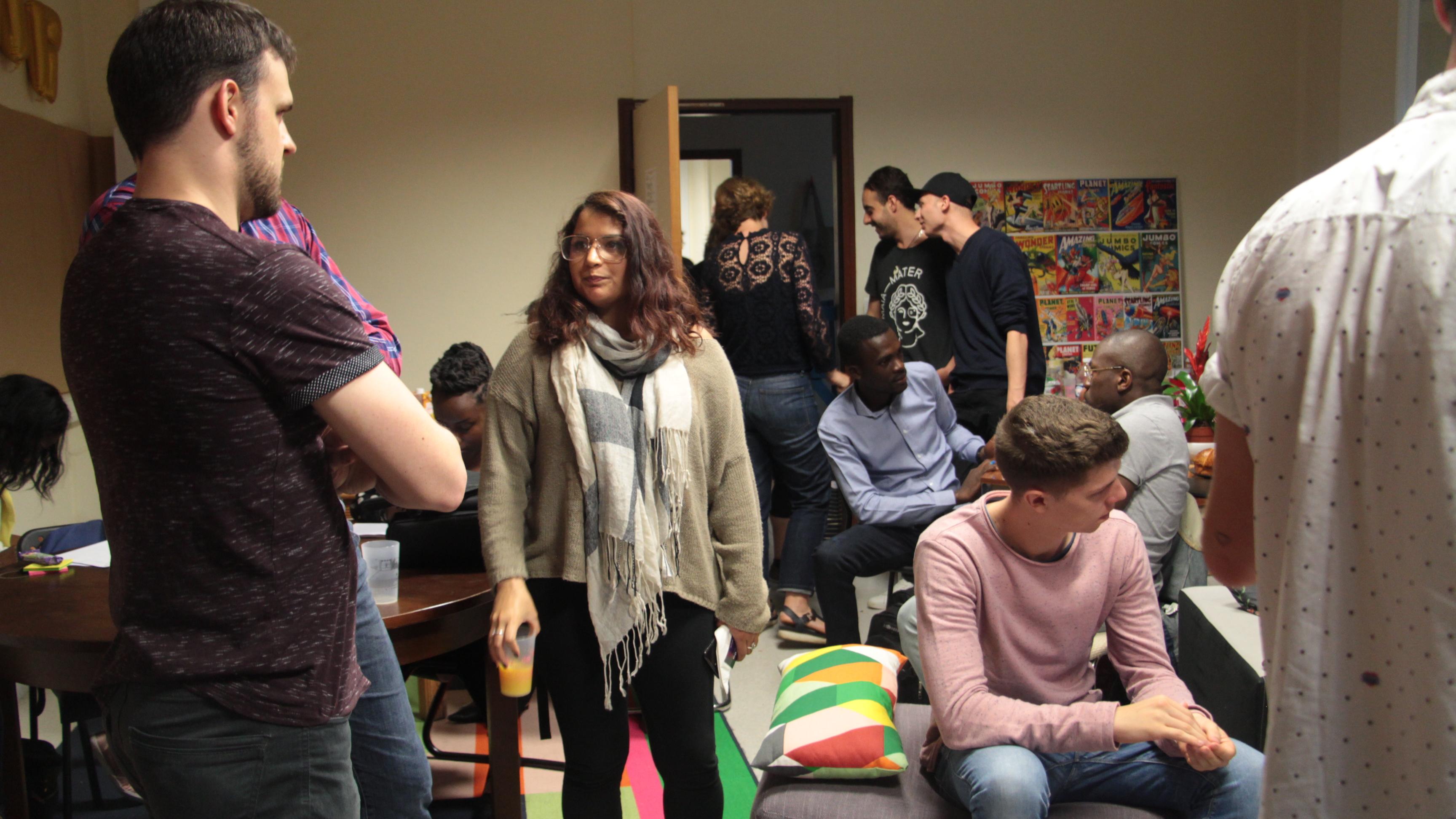 Journée préliminaire et hackathon à Maia Mater pour la délégation
